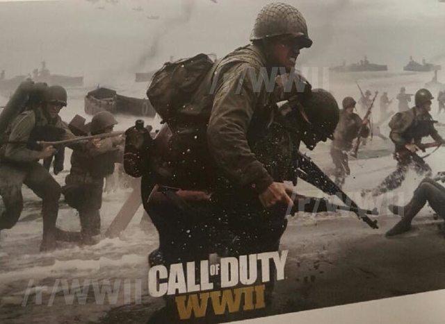 Call of duty WWII filtracion 3
