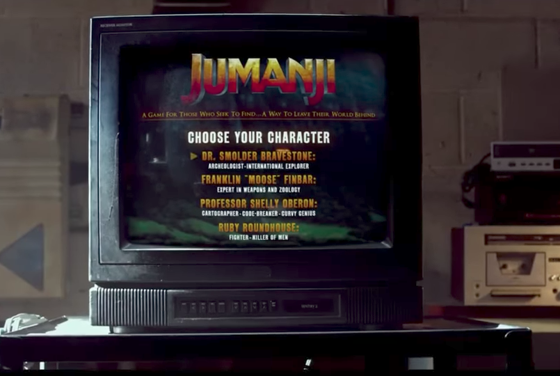 Jumanj game Sony Pictures