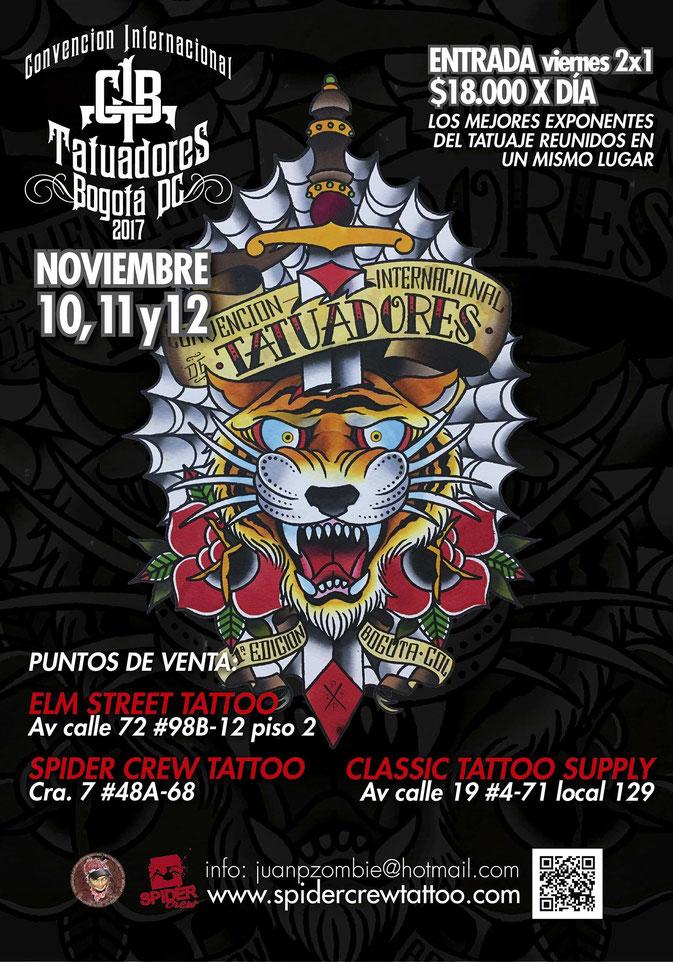 convencion internacional de tatuadores de bogota