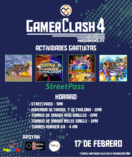 gamer clash actividades