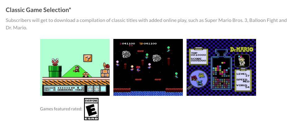 juegos clasicos nintendo switch