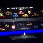 Disney presenta su calendario de películas hasta 2019