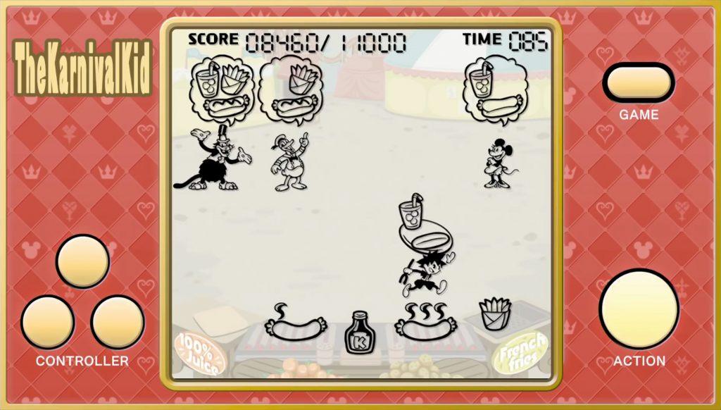 kingdom hearts iii mini game the karnival kid