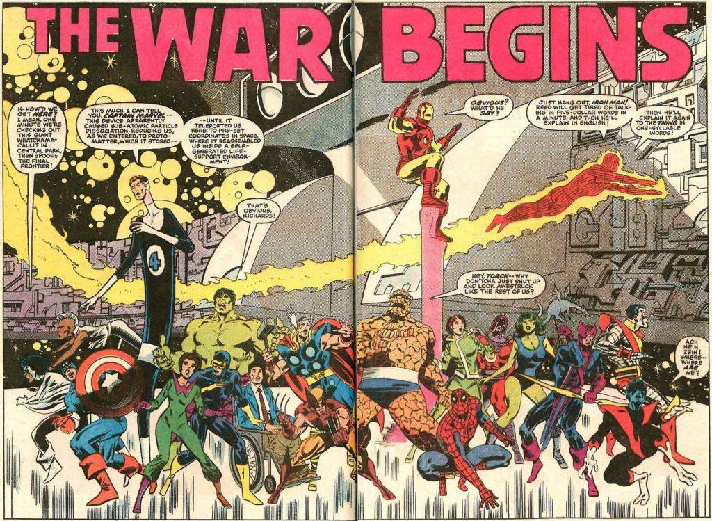 secret wars 1 heroes