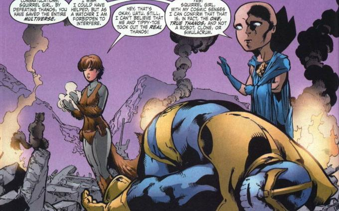 squirrel girl thanos