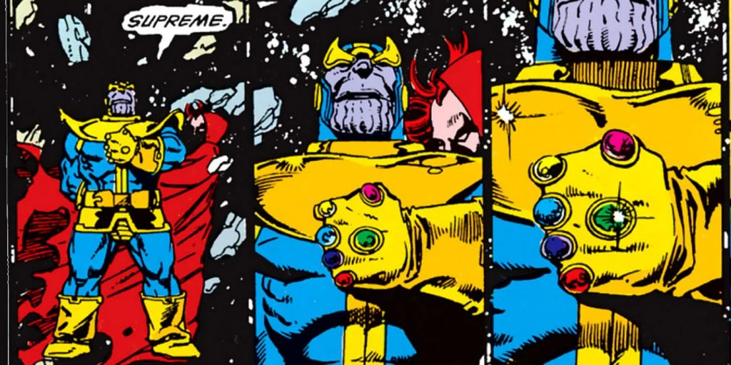 thanos infinity gauntlet supreme