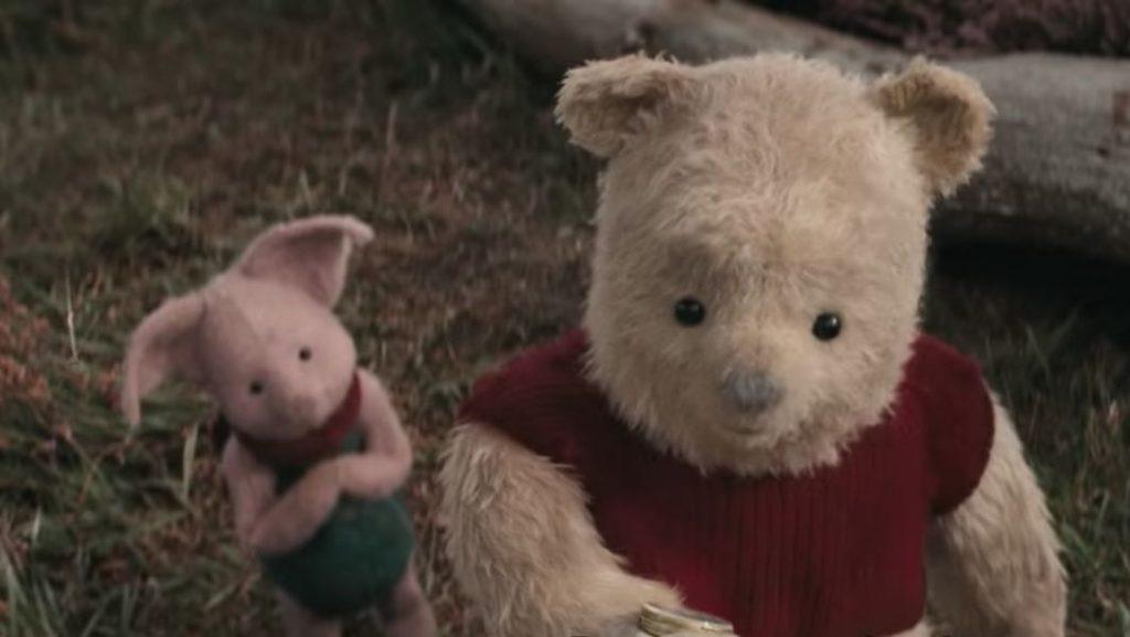 christopher robin pooh y piglet