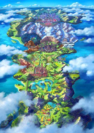 galar region map