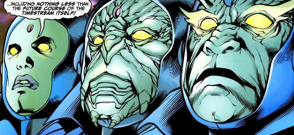 Guardianes del Tiempo Marvel Comics
