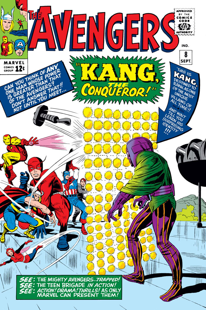kang the conqueror marvel avengers