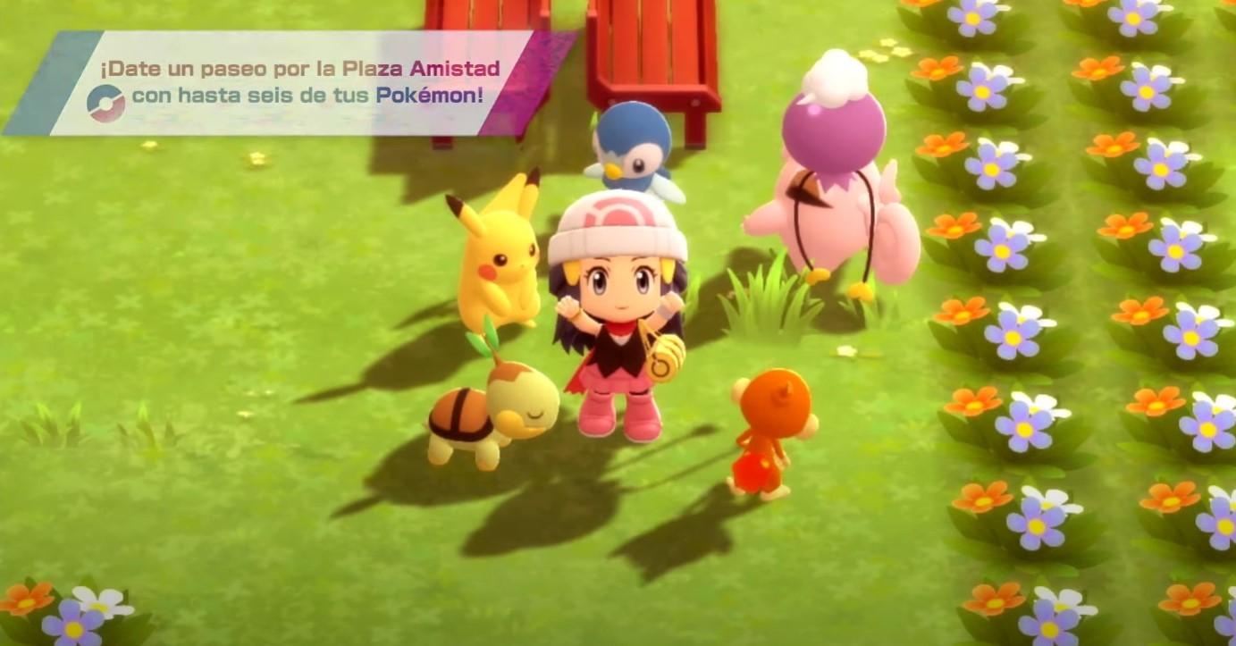 Pokémon Diamante Brillante y Perla Reluciente